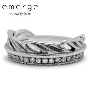 emerge / エマージュ ラグジュアリーフェザーリング キュービックジルコニア blackbarts