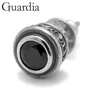 Guardia / ガルディア Aster / アステール ピアス ブラックキュービックジルコニア...