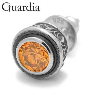 Guardia / ガルディア Aster / アステール ピアス シャンパンキュービックジルコニア|blackbarts