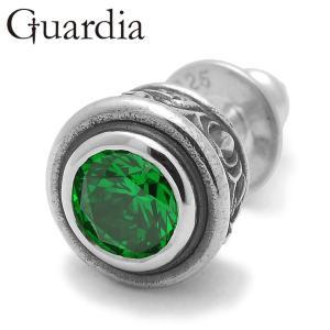 Guardia / ガルディア Aster / アステール ピアス グリーンキュービックジルコニア...