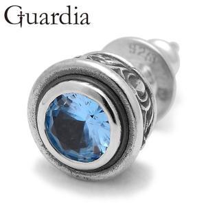 Guardia / ガルディア Aster / アステール ピアス 合成アクアスピネル|blackbarts
