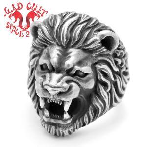 MAD CULT / マッドカルト Lion Head-R / ライオンヘッド リング blackbarts