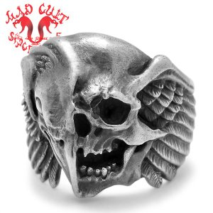 MAD CULT / マッドカルト The End-half face-R / ジエンド-ハーフフェイス-リング R-50|blackbarts