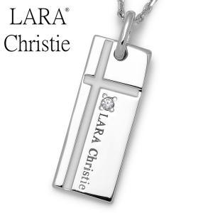 LARA Christie / ララクリスティー ノーブルクロスネックレス ホワイト P3051-W|blackbarts