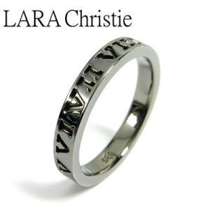 LARA Christie / ララクリスティー オルロージュリング ブラック BLACK Label|blackbarts
