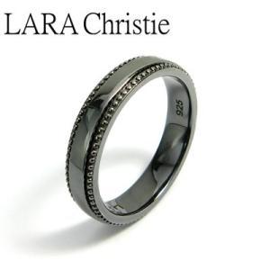 LARA Christie / ララクリスティー ギャラクシーリング ブラック BLACK Label|blackbarts