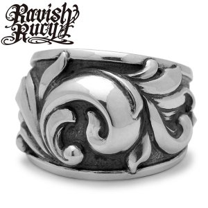 Ravish Rucy / ラヴィッシュルーシー Ivy Wide Ring / アイビーワイドリング RKR-3|blackbarts