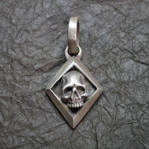 ブラックチェイサー『ダイアモンドスカルペンダント-I』/BlackChaser『DiamondSkullPendant-I』|blackchaser