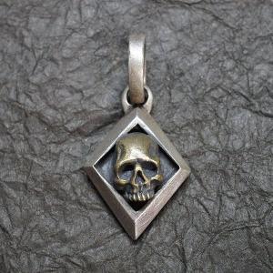 ブラックチェイサー『ダイアモンドスカルペンダント-II』/BlackChaser『DiamondSkullPendant-II』|blackchaser