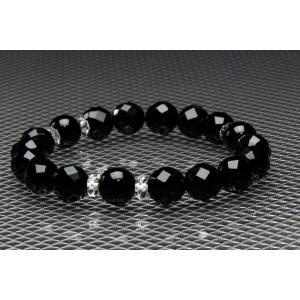 バランスE天然石ブレスレット300 オニキス|blackjackshop