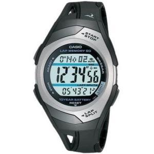 [カシオ] 腕時計 フィズ LAP MEMORY 60 STR300CJ1JF ブラック|blackmacerstore