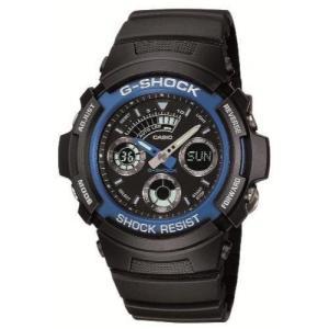 [カシオ] 腕時計 ジーショック AW-591-2AJF ブラック|blackmacerstore