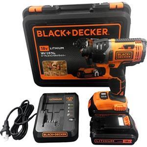 ブラックアンドデッカー(BLACK+DECKER) コードレスインパクトドライバー 18V EXI18|blackmacerstore