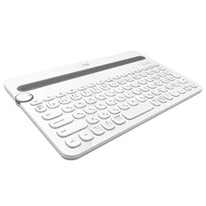 Logicool ロジクール K480WH Bluetooth ワイヤレス キーボード マルチOS:Windows Mac iOS Android Chrome OS 対応|blackmacerstore