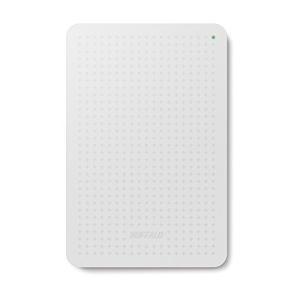 BUFFALO ミニステーション ターボPC EX2 Plus対応 USB3.0ポータブルHDD 500GB ホワイト HD-PCF500U3-WC blackmacerstore