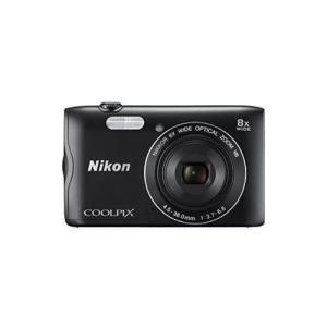 Nikon デジタルカメラ COOLPIX A300 光学8倍ズーム 2005万画素 ブラック A300BK blackmacerstore