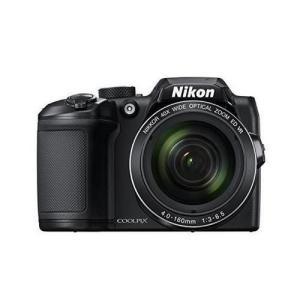 Nikon デジタルカメラ COOLPIX B500 光学40倍ズーム 1602万画素 単三電池 ブラック B500BK blackmacerstore