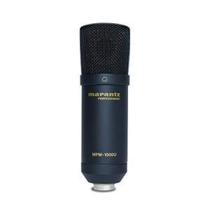 ●商品名:マランツプロ USBコンデンサーマイク 生放送・録音・ポッドキャスト MPM1000U  ...