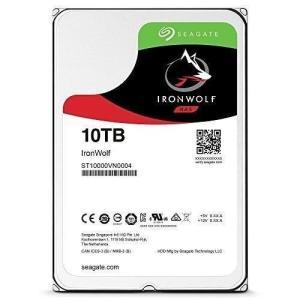 "Seagate IronWolf 3.5"" 10TB 内蔵ハードディスク HDD 3年保証 256M..."