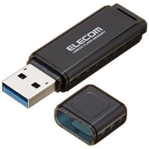 エレコム USBメモリ 64GB USB3.0 Windows/Mac対応 キャップ紛失防止 1年間...
