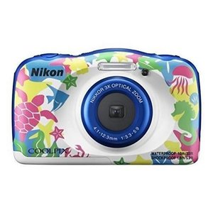 Nikon デジタルカメラ COOLPIX W100 防水 W100MR  クールピクス マリン blackmacerstore