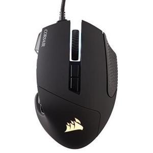 Corsair SCIMITAR PRO RGB -Black- オプティカルゲーミングマウス MS...