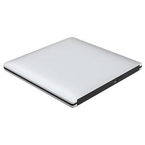 VersionTek(最新バージョン)USB3.0 ポータブルDVDドライブ CDドライブ PC外付けドライブ/DVDプレーヤー Windows/Linux/Mac OS三対応 スーパドライブ 超薄|blackmacerstore