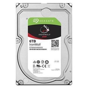 "Seagate IronWolf 3.5"" 6TB 内蔵ハードディスク HDD 3年保証 6Gb/s..."