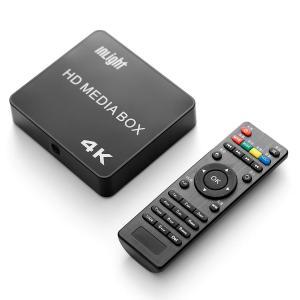 InLight メディアプレーヤー 4K高画質 最大2160p対応 動画・音楽・写真再生プレーヤー SDカード/USBメモリ/外付ハードディスク対応 H.265/MP4/FLV/MOVなど|blackmacerstore