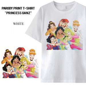 メイン素材: 綿  海外でも人気のパロディプリントのTシャツです。  生地はやわらかく、着心地、肌触...