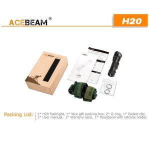 【ACEBEAM】ヘッドライト[リフレクタータイプ] H20 CreeXLamp XP-L HI LED(色温度4000K)1000ルーメン★閃光ライト 米国 アメリカ|blackwolf|04