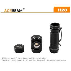 【ACEBEAM】ヘッドライト[リフレクタータイプ] H20 CreeXLamp XP-L HI LED(色温度4000K)1000ルーメン★閃光ライト 米国 アメリカ|blackwolf|07