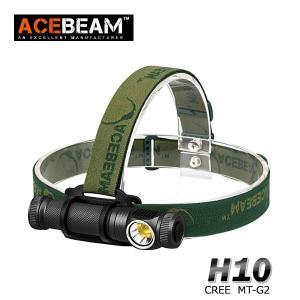 【ACEBEAM】ヘッドライト[リフレクタータイプ・OP] H10 CreeXLamp MT-G2 q0(色温度5000K)2000ルーメン★閃光ライト 米国|blackwolf