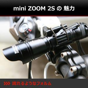 【BLACK WOLF】mini-ZOOM2S 自転車のフロントライトとしてデザインしていて、対向者が眩しくないようにブラインドになっています。メモリーや放熱機能付|blackwolf|02