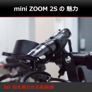 【BLACK WOLF】mini-ZOOM2S 自転車のフロントライトとしてデザインしていて、対向者が眩しくないようにブラインドになっています。メモリーや放熱機能付|blackwolf|03