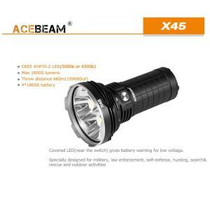 【ACEBEAM】X45 CREE XLampの最新&ハイエンドLEDを搭載。多くのマニアをも魅了させてしまう注文度が高いブランドです。光をお楽しみください。|blackwolf|02