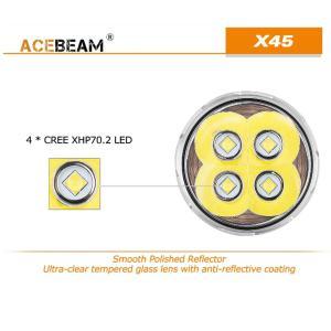 【ACEBEAM】X45 CREE XLampの最新&ハイエンドLEDを搭載。多くのマニアをも魅了させてしまう注文度が高いブランドです。光をお楽しみください。|blackwolf|03