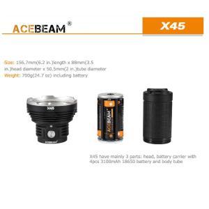 【ACEBEAM】X45 CREE XLampの最新&ハイエンドLEDを搭載。多くのマニアをも魅了させてしまう注文度が高いブランドです。光をお楽しみください。|blackwolf|05