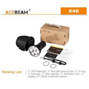 【ACEBEAM】X45 CREE XLampの最新&ハイエンドLEDを搭載。多くのマニアをも魅了させてしまう注文度が高いブランドです。光をお楽しみください。|blackwolf|07