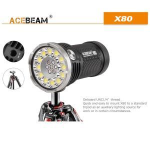 【ACEBEAM】X80明るさ25000ルーメン爆光!CREE XLamp XHP50*12、XPE2(カラー)。多くのライトマニアをも魅了さる注文度が高いブランドです。光を楽しむ。 blackwolf 05