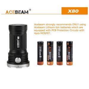 【ACEBEAM】X80明るさ25000ルーメン爆光!CREE XLamp XHP50*12、XPE2(カラー)。多くのライトマニアをも魅了さる注文度が高いブランドです。光を楽しむ。 blackwolf 06