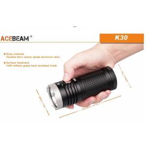 【ACEBEAM】K30 明るさ5200ルーメン爆光!CREE XHP 70.2 LED。多くのライトマニアをも魅了させ注目度が高いブランドです。光をお楽しみください。|blackwolf|05