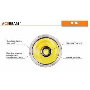 【ACEBEAM】K30 明るさ5200ルーメン爆光!CREE XHP 70.2 LED。多くのライトマニアをも魅了させ注目度が高いブランドです。光をお楽しみください。|blackwolf|06
