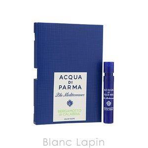 【ミニサイズ】 アクアディパルマ ACQUA DI PARMA ブルーメディテラネオベルガモットディカラブリア EDT 1.2ml [572302]|blanc-lapin