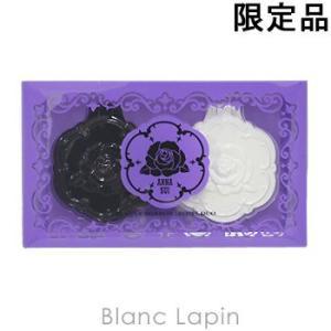 アナスイ ANNA SUI ビューティーミラーローズデュオ ブラック/ホワイト [102942] blanc-lapin