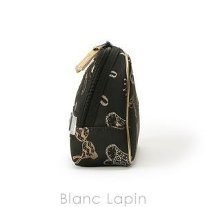 アルティザン&アーティスト ARTISAN&ARTIST スロープシェイプ・ポーチ 9WP-GI110H ナイト・ビフォー・パーティー #ブラック/ホワイト [141663] blanc-lapin 02