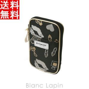 アルティザン&アーティスト ミニマムなマルチユースポーチ 9WP-GI907 ナイト・ビフォー・パーティー#ブラック/ホワイト [141700]【メール便可】|blanc-lapin