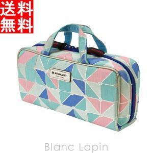 アルティザン&アーティスト ARTISAN&ARTIST ブラシケース付きバッグ型ポーチ 9WP-PL619 パステル・パレット #ブルー [141816]|blanc-lapin