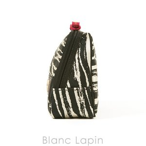 アルティザン&アーティスト ARTISAN&ARTIST スロープシェイプ・ポーチ 9WP-ZB110H ゼブラ・シック #ブラック [143698] blanc-lapin 02
