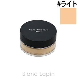 ベアミネラル bareminerals マットファンデーション SPF15・PA+++ #ライト 6g [236695]【メール便可】|blanc-lapin